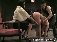 Bondage Girl In Hilarious Dom Sex