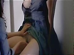 Various clips of celeb Helene Zimmer naked, masturbating and sucking cock from the movie Q