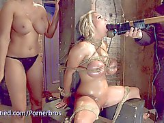 Holly halston gets abused in the dungeon