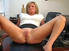 Wife spanked by her boss
