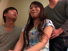 Nana Nakamura gets a bunch of - More at javhd