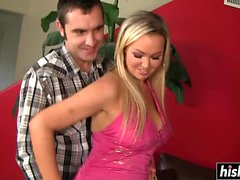 Abbey Brooks enjoys his thick shaft