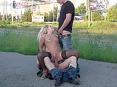 EXTREME PUBLIC sex GANGBANG Part 3