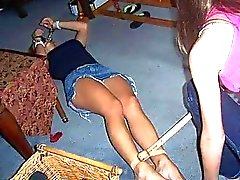 Party Girls Bondaged and Humiliated!
