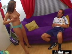 Natasha Nice badly wants to swallow