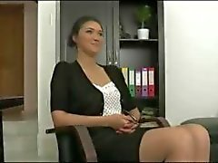 Office Hottie Gets Repeatedly Gangbanged by her colleagues