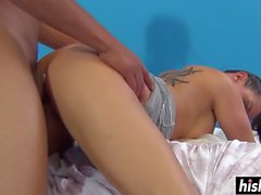 Tory Lane rides until he cums