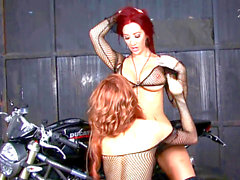 Jayden Jaymes And Jayden Cole Biker babes (2012) HD