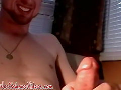 Smoking Amateur Americans Jersey and Daddy masturbate cum