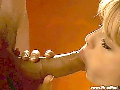 Blowjob From a Gorgeous Blonde MILF