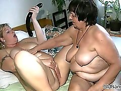 Dirty mature sluts go crazy dildo part2