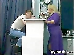Mature Blonde Russian Whore