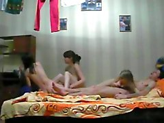 Hidden Cam For Three Slutty Babes