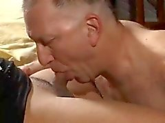Amateur Tgirl Sylvia and Old Man