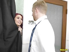 Monique Alexander has hot tribbing with hot latina maid Katya Rodriguez