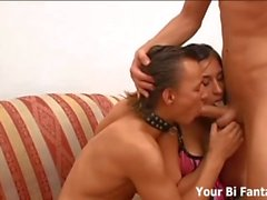 Bisexual Threesomes And Cock Sucking Training Videos